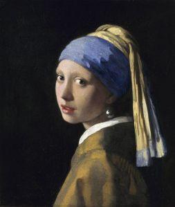 Girl with a Pearl Eariing - Vermeer
