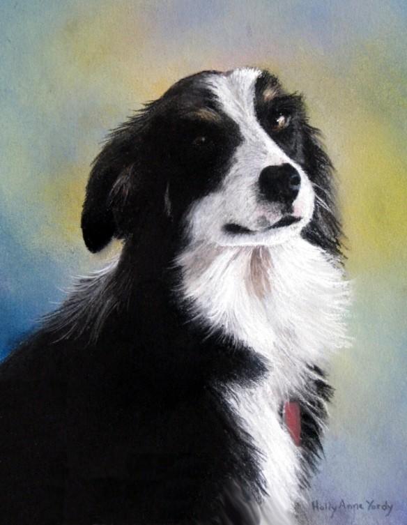 Kansa - 9 x 12 pastel portrait