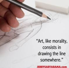 Art, like morality, consists